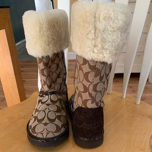 Coach Nikole boots
